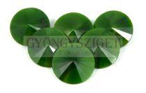 Matubo  rivoli - green pearl - 12mm