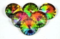 Matubo  rivoli - crystal vitrail - 20mm