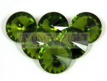 Matubo  rivoli - olivine - 20mm