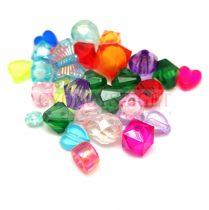 Műanyag gyöngy mix - 2