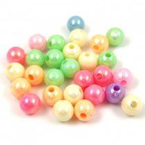 Műanyag gyöngy mix - 5