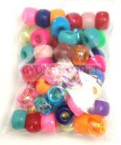 Műanyag gyöngy mix - 6