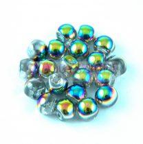 Cseh gomba gyöngy (mushroom) - crystal vitral - 6x5mm