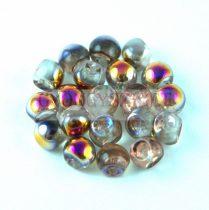 Cseh gomba gyöngy (mushroom) - crystal sliperit - 6x5mm