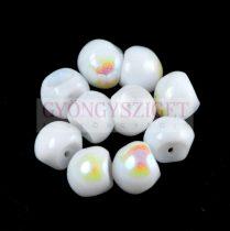 Cseh gomba gyöngy (mushroom) - Alabaster AB - 9x8mm