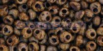 Toho magatama gyöngy - hybrid telt levendula picasso