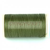 Nylbond fűzőcérna - ezüst zöld - 60m