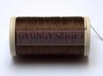 Nylbond fűzőcérna - sötét barna - 60m