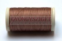 Nylbond fűzőcérna - barna - 60m