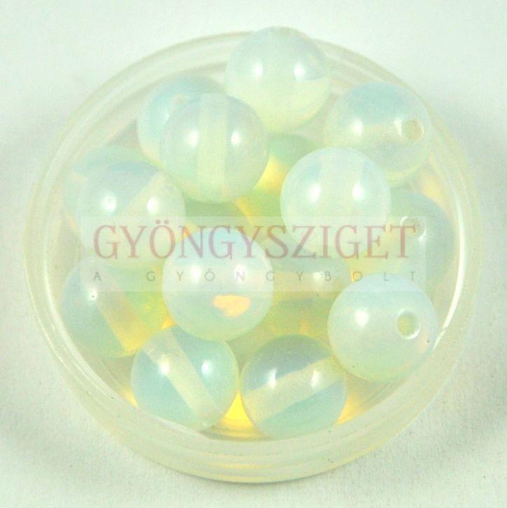 Opalit gyöngy golyó - 6mm Opalit gyöngyök 99a30c7b19