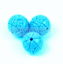 Resin round bead - Oriental - Light Blue - 8mm