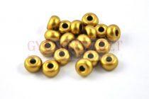 Pandora gyöngy - polichrome metallic gold - 9mm