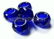 Pandora gyöngy - kobaltkék - 9x14mm