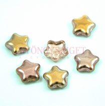 Cseh préselt egyedi formák - Csillag - Crystal Apollo - 12mm