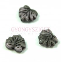 Special Shapes - Czech Glass Bead - leaf - 13mm