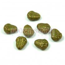 Cseh préselt egyedi formák - trilobita - zöld - 10mm