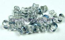 Cseh Pellet gyöngy - Crystal Laguna - 4x6mm