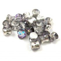 Cseh Pellet gyöngy - crystal vitrál light -4x6mm