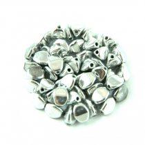 Pinch gyöngy - Silver - 5x3mm - 200db
