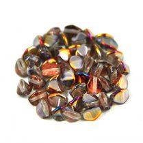 Cseh préselt Pinch gyöngy - crystal sliperit - 5x3mm