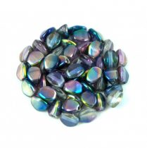 Cseh préselt Pinch gyöngy - Crystal Magic Blue Pink - 5x3mm
