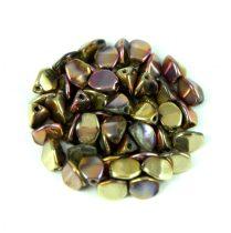 Cseh préselt Pinch gyöngy - crystal California pink - 5x3mm