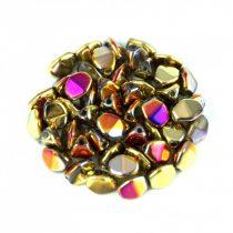 Cseh préselt Pinch gyöngy - Crystal California Violet - 5x3mm