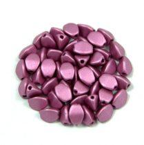 Cseh préselt Pinch gyöngy - metál polichrome purple - 5x3mm