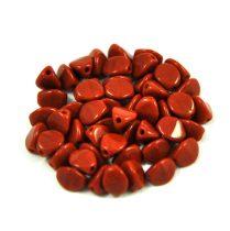 Cseh préselt Pinch gyöngy - telt csokoládé - 5x3mm