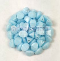 Cseh préselt Pinch gyöngy - Baby Blue - 5x3mm