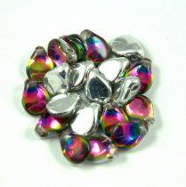 Pip cseh préselt üveggyöngy - Crystal Vitral Medium - 5x7mm