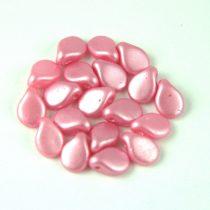 Pip cseh préselt üveggyöngy - Pastel Inocent Pink - 5x7mm