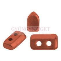 Piros® par Puca®gyöngy - Bronze Red Mat - 2x5 mm