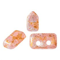 Piros® par Puca®gyöngy - Light Rose Opal Tweedy - 2x5 mm
