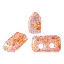 Piros® par Puca®gyöngy - Light Rose Opal Tweedy - 2x5 mm