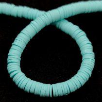 Polimer korong gyöngy - Orange - 4mm