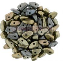 Czech Mates Prong - matte metallic bronze iris - 3x6mm
