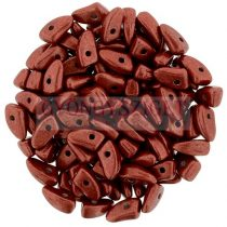 Czech Mates Prong - Saturated Metallic Aurora Red - 3x6mm