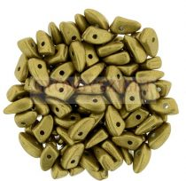 Czech Mates Prong - Saturated Metallic Spicy Mustard - 3x6mm