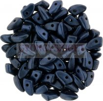 Czech Mates Prong - Matte Metallic Blue night - 3x6mm