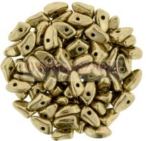 Czech Mates Prong - Golden Bronze - 3x6mm
