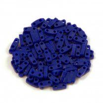 Miyuki Quarter Tila bead - 414 - Opaque Cobalt - 1.2 x 5mm