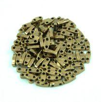 Miyuki Quarter Tila gyöngy - 457 - Bronze - 1.2 x 5mm
