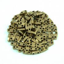 Miyuki Quarter Tila bead - 457 - Bronze - 1.2 x 5mm