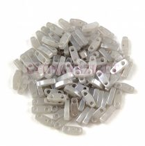 Miyuki Quarter Tila bead - 526 - Silver Gray Ceylon - 1.2 x 5mm