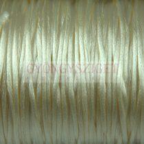 Selyem zsinór (rattail) - 1mm - Light Beige