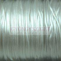 Selyem zsinór (rattail) - 1mm - White