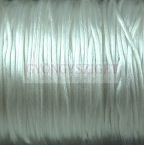 Rattail - Silky Finish Synthetic Cord - 1mm - White