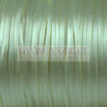 Selyem zsinór (rattail) - 2mm - Almond Cream