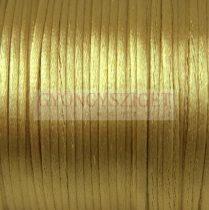 Selyem zsinór (rattail) - 2mm - Antik Gold